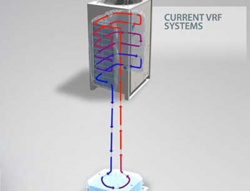 عملکرد VRV دایکین در حالت گرمایش
